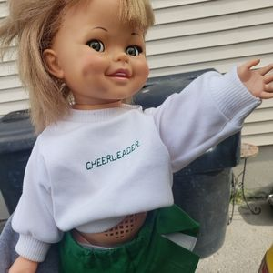 Vintage..1960s ideal giggles doll